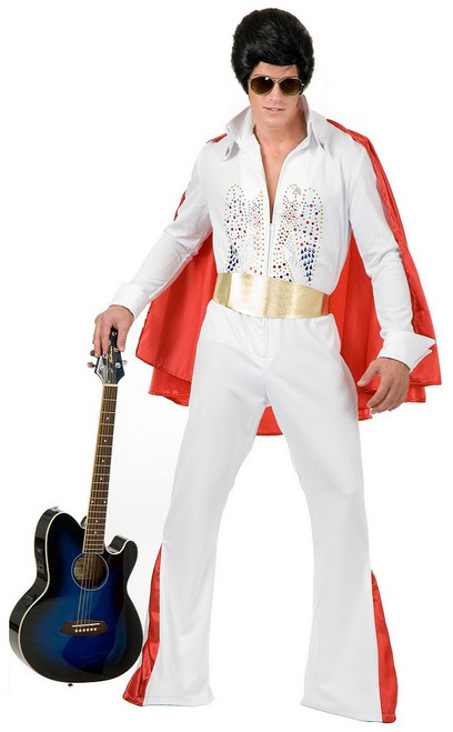 Costume d'Elvis Taille plus Prestige