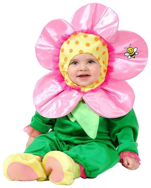 Costume du petite fleur