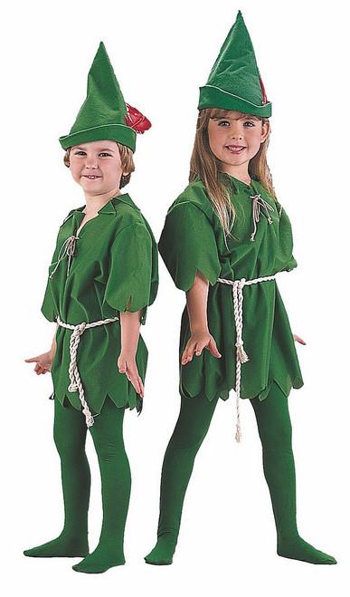 Costume de lutin Peter Pan