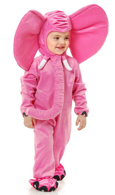 Costume rose du petit Eléphant
