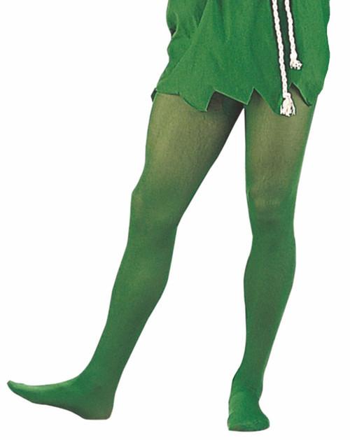 Nylon Collants Vert