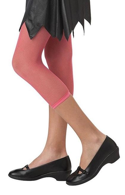 Legging résille rose