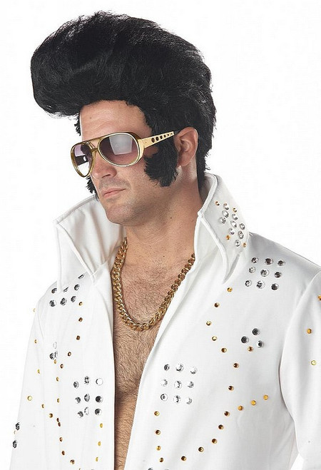 Perruque d'Elvis