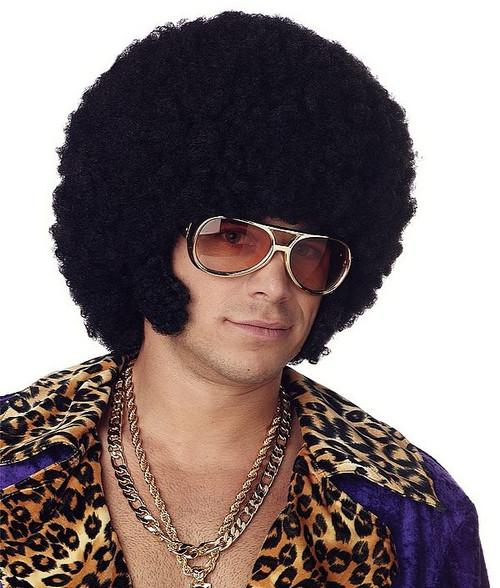Afro perruque noire
