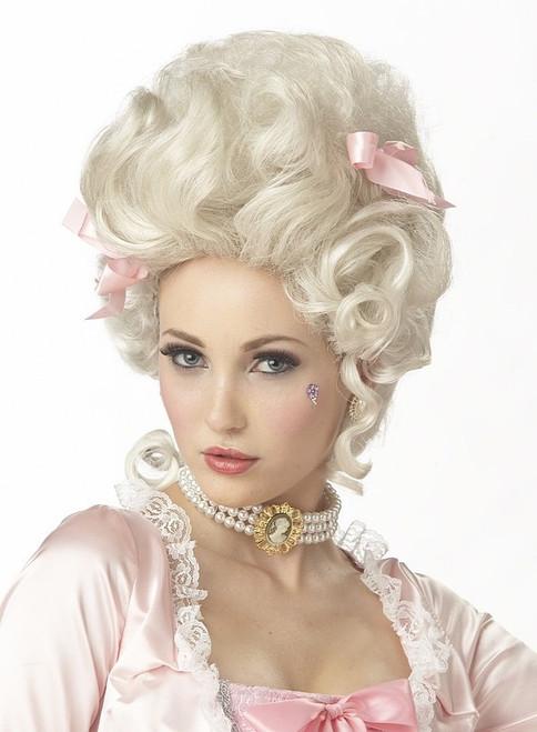 Perruque blonde Marie-Antoinette