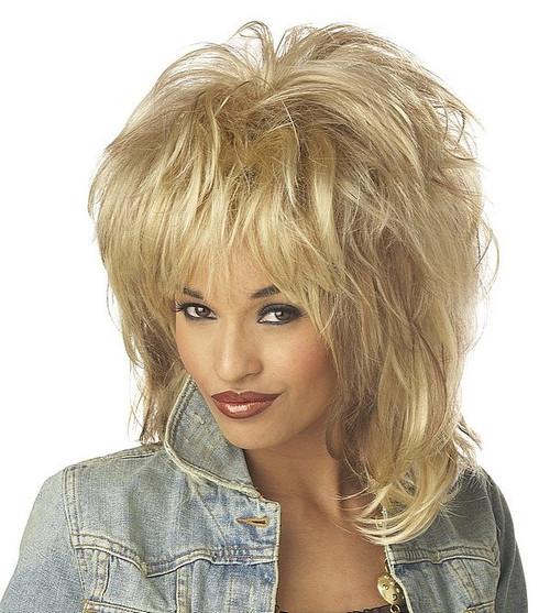 Âme perruque blonde Rockin'