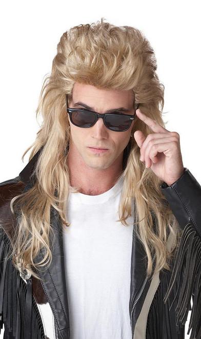 80 Blonde rock Mullet