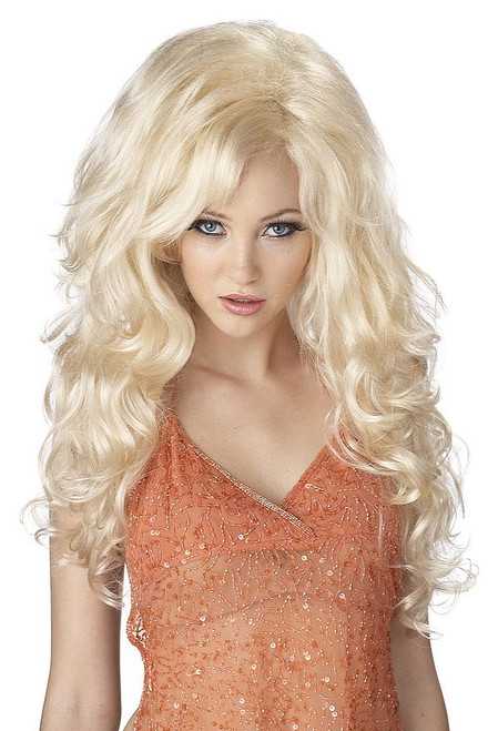 Bombshell perruque blonde