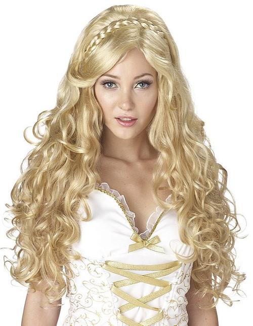 Déesse perruque blonde Mythique