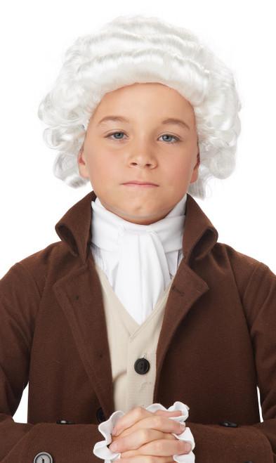 L'homme Colonial enfant perruque