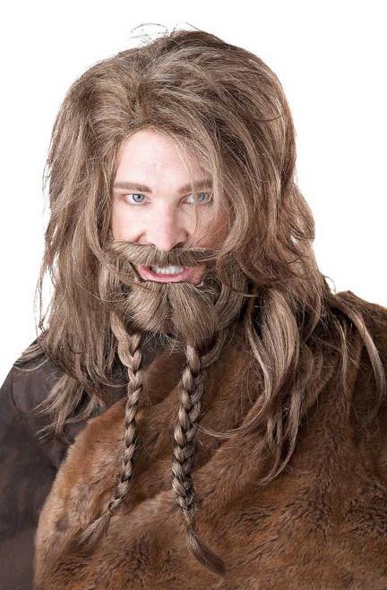 Perruque, Moustache et Barbe de Viking