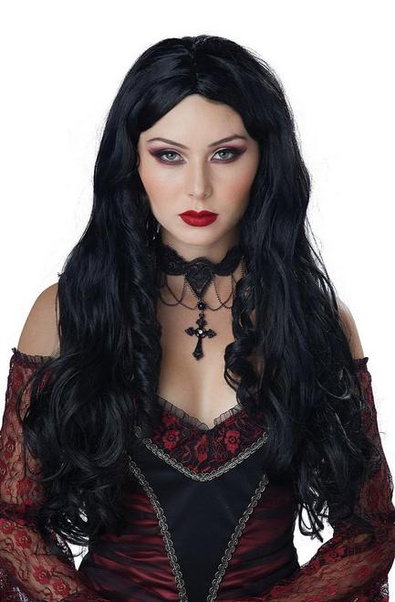 Perruque Noire de la Gothique