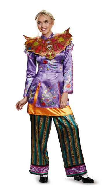 Costume d'Alice De l'autre cote du miroir pour Adulte