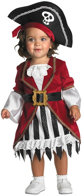 Costume de Princesse Pirate bébé