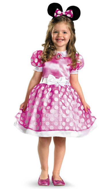 Costume Rose de minnie mouse