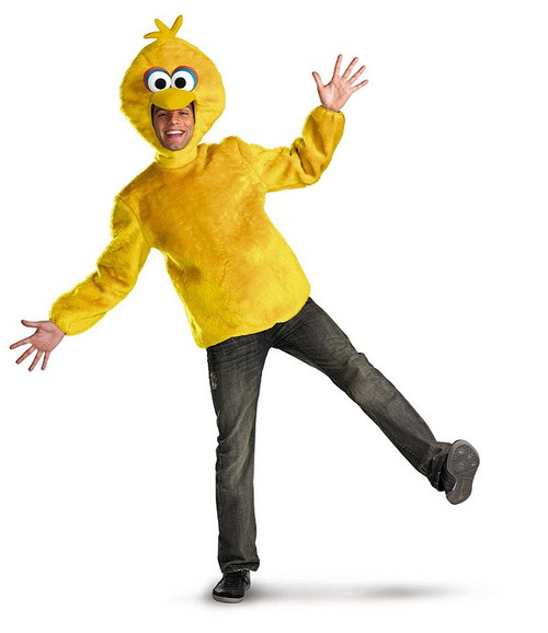 Costume de Big Bird Rue Sésame