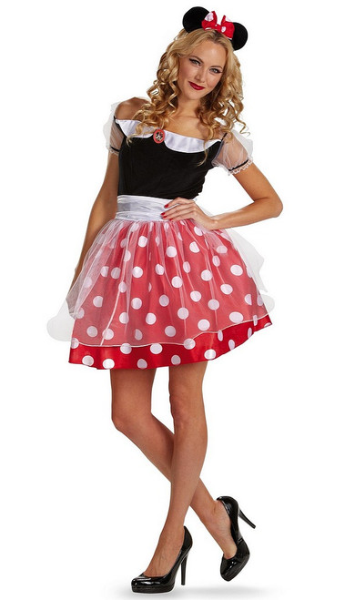 Costume Minnie Mouse Mickey Deluxe Adulte