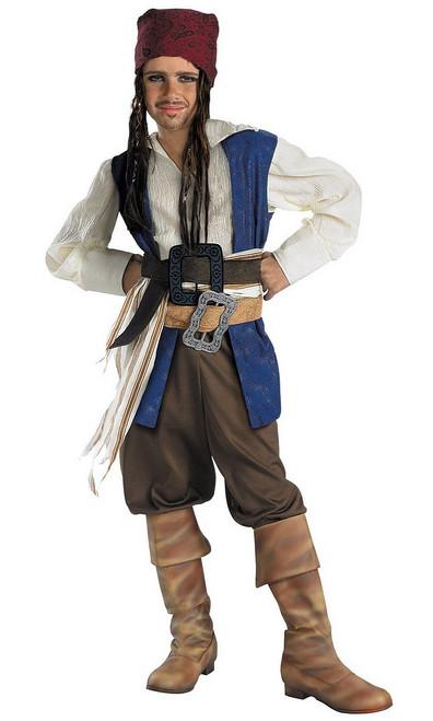 Costume Classique du Capitaine Jack Sparrow pour Enfant