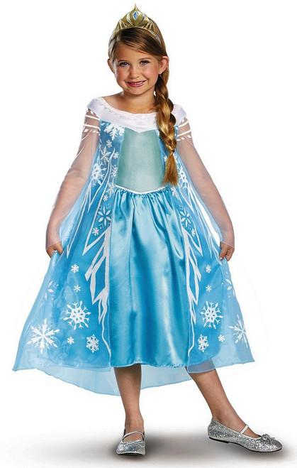 Costume d'Elsa reine des neiges pour enfant