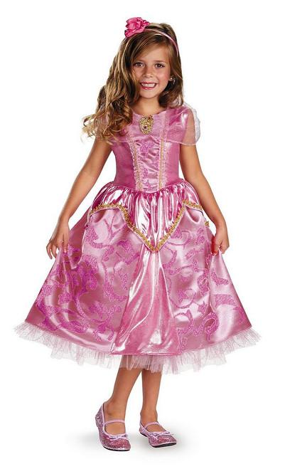 Costume Deluxe Brillant d'Aurore pour Enfant