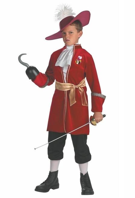 Costume Classique de Capitaine Crochet pour Enfant