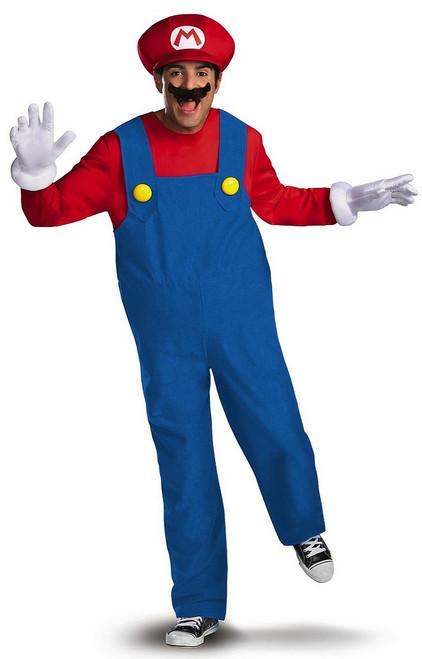Costume Mario Deluxe Grandeur Plus
