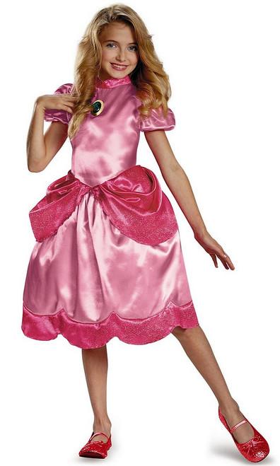 Costume Classique de Princesse Peach pour Enfant
