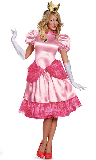 Costume de la Princesse Peach pour femmes