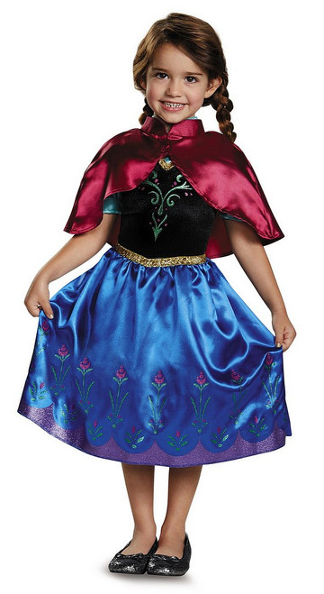 Costume Classique d'Anna Voyageant Toddler pour Enfant