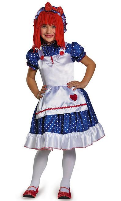 Costume de Anne la Poupée de Chiffon Usée