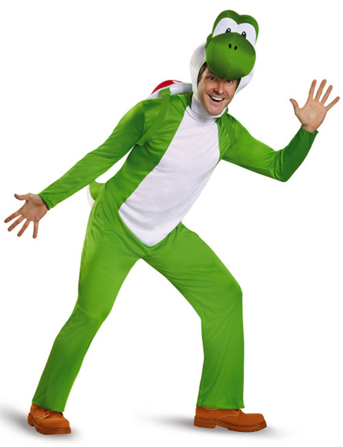Costume de Yoshi Super Mario pour Adulte