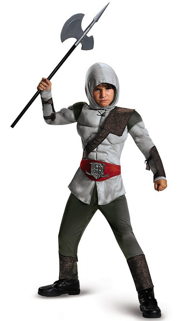 Costume de l'Enfant Assassin Musclé