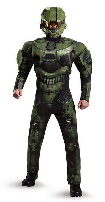 Halo Master Chief Costume Deluxe Muscle pour Adulte