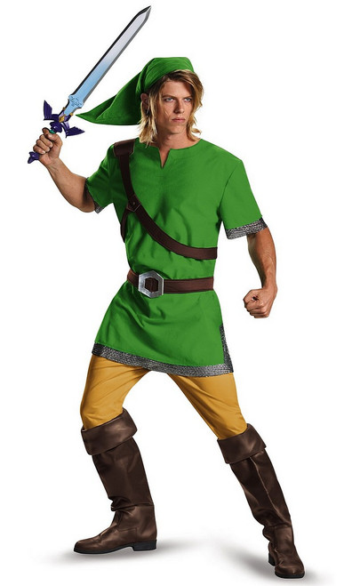 Costume pour Adulte de l'Elfe Guerrier de Zelda