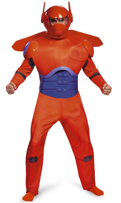 Costume Deluxe de Baymax Rouge  pour Adulte