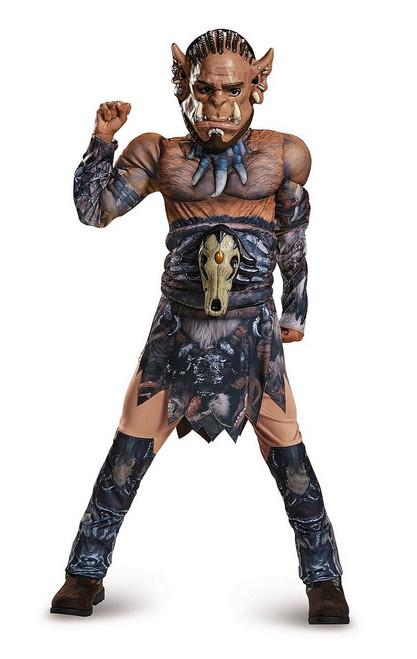 Costume Classique de Warcraft Durotan pour Enfant