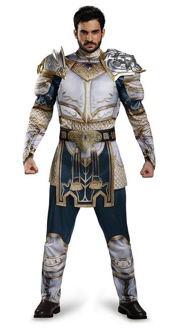 Costume Classique de Warcraft Roi King Llane pour Adulte