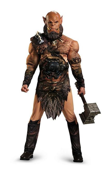 Costume Deluxe de Warcraft Orgrim Musclé pour Adulte