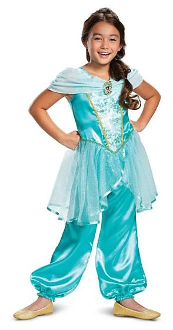 Costume Classique de Jasmine Disney pour Enfant