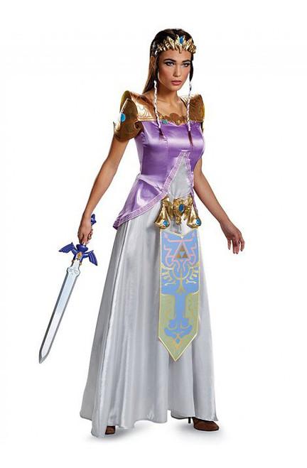 Costume Deluxe de Zelda Adulte