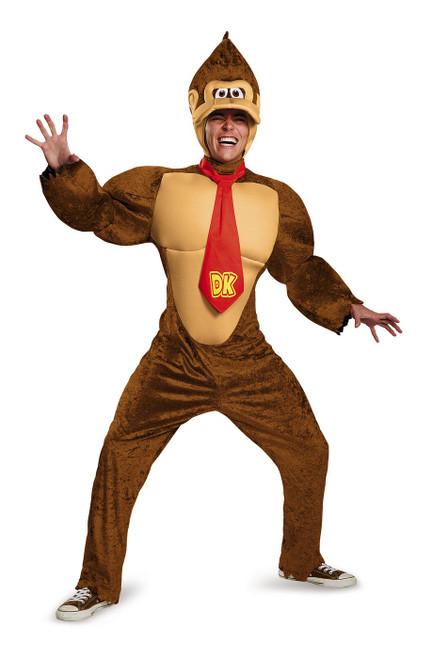 Le Costume Deluxe de Donkey Kong pour Adulte