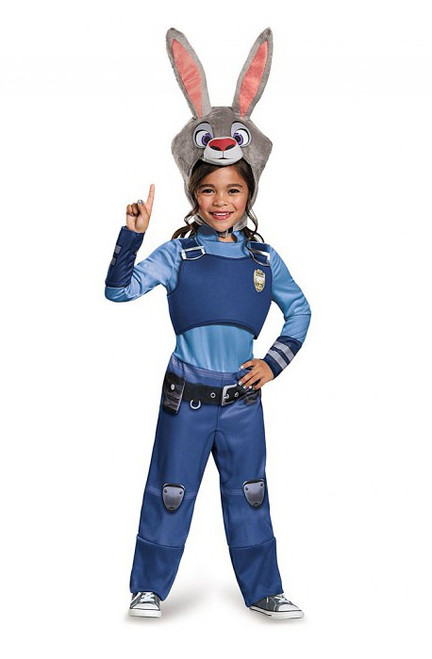 Costume de Zootopie lieutenant Judy Hopps pour Enfant