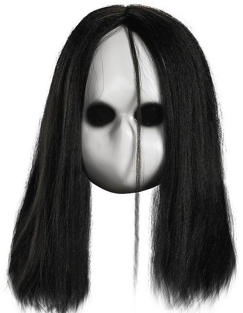 Masque blanc Yeux Noir Doll