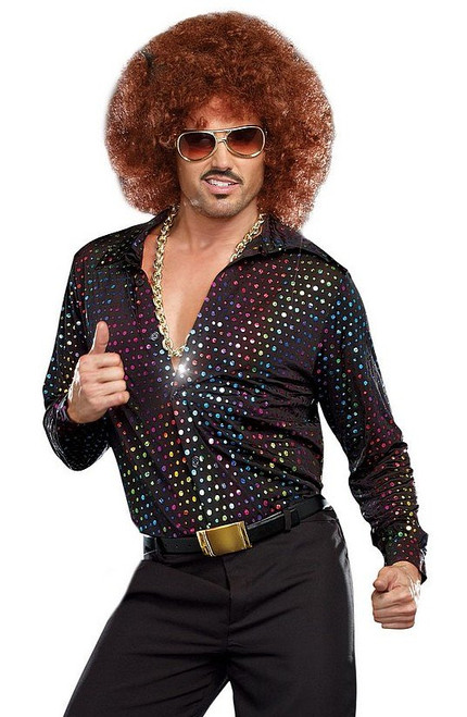 Chemise d'homme Disco