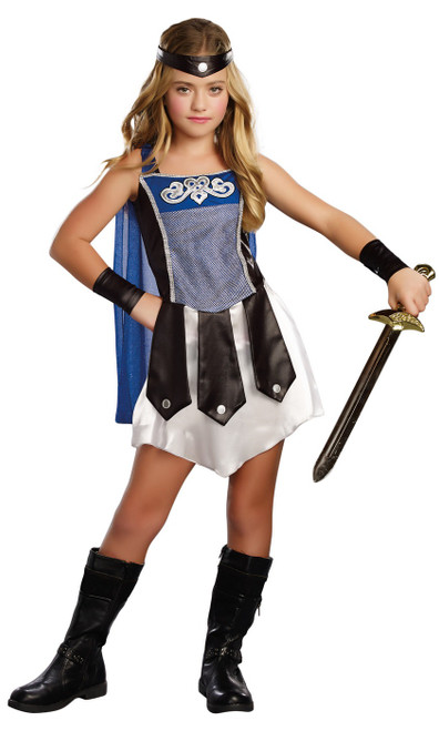 Costume de la Gladiatrice Romaine pour Fille