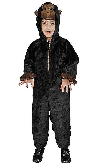 Costume en peluche de Gorille pour enfant