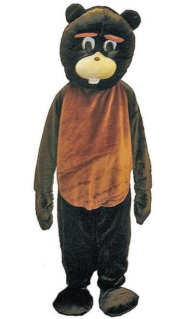 Costume de Mascotte de castor
