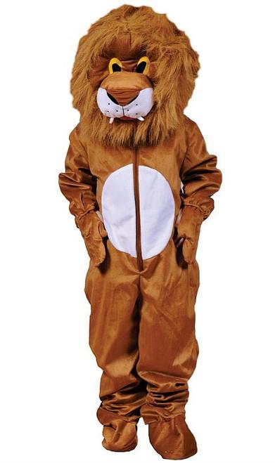 Costume en peluche de lion pour Adulte