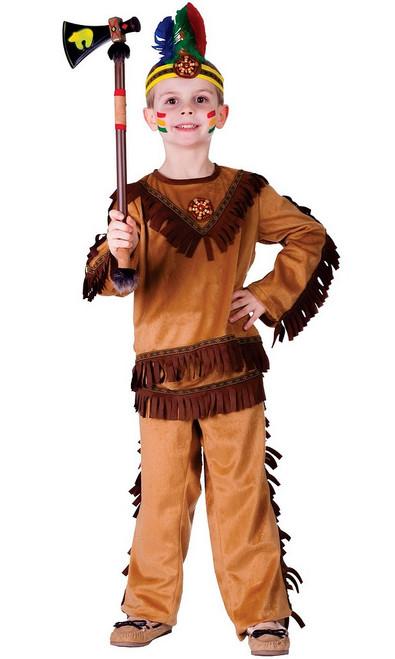 Costume de guerrier indien pour garçon