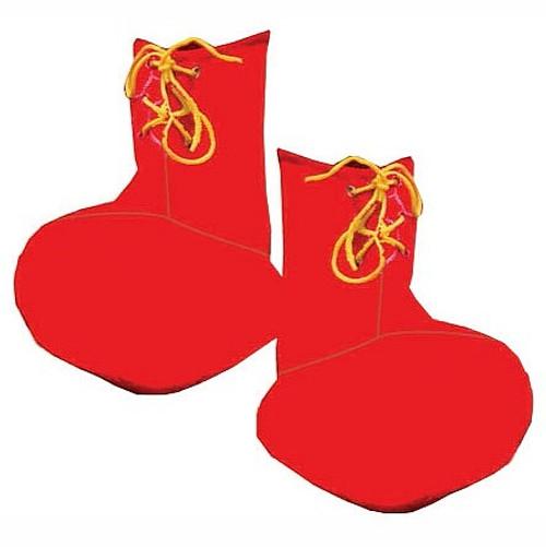 Rouge Enfant Clown Couvre-chaussures